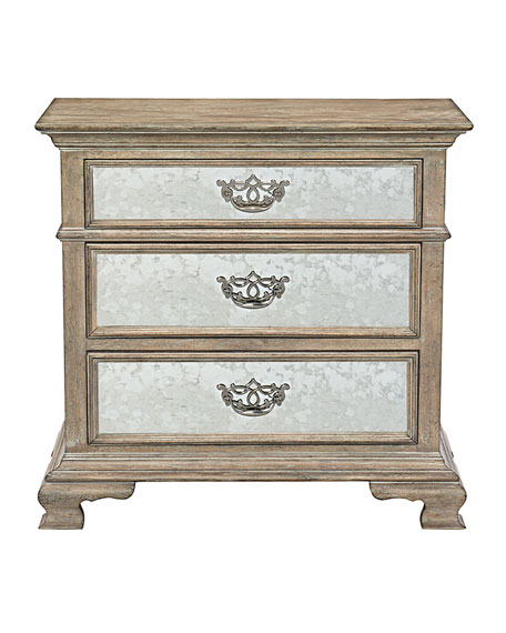 Campania Mirrored Bachelor's Chest
