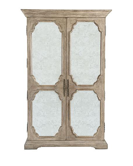 Bon Bernhardt Ventura Mirrored Armoire