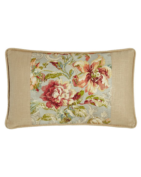 Fresco Pieced Boudoir Pillow