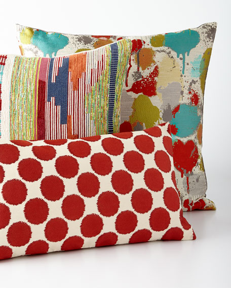 Funfetti Tangerine Pillow