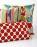 Red Circles Pillow