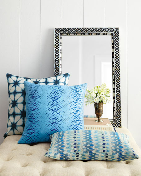 Luxury Home Decor Accents Mirrors More At Horchow: Jamie Young Evelyn Mother-of-Pearl Mirror
