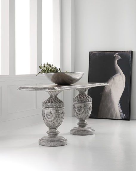 Hooker Furniture Double Urn Console Table