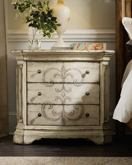 Adelina 3-Drawer Nightstand