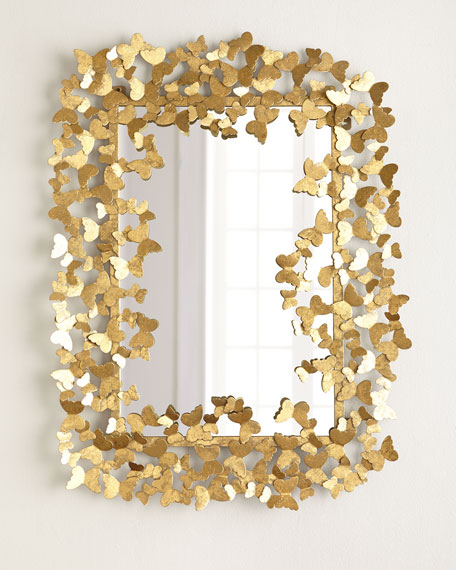 Butterfly Mirror. Decorative Wall Mirrors   Floor Mirrors at Horchow