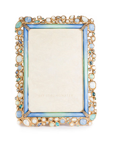 "Emery Bejeweled Frame, 4"" x 6"""
