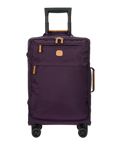 X-Bag Violet 21 Carry-on Spinner Luggage