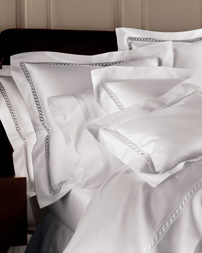 Milos European 1 020 Thread Count Solid Sateen Sham