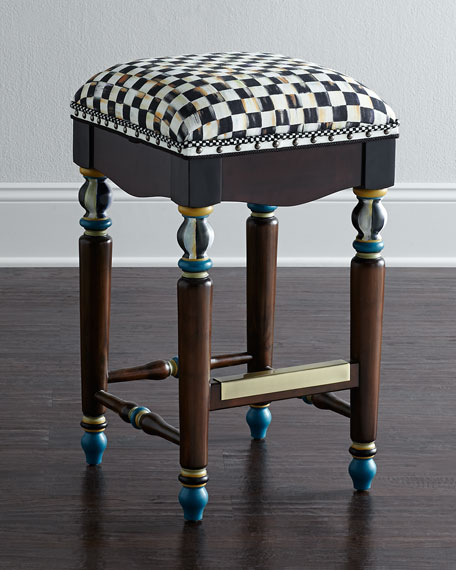 Courtly Check Barstool