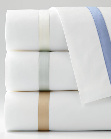 Matouk Standard 600 Thread Count Lowell Pillowcase