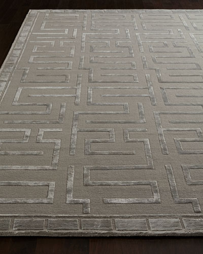 Sicily Hand-Knotted Rug  6' x 9'