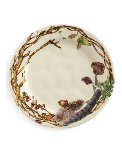 Forest Walk Party Plates  Set of 4