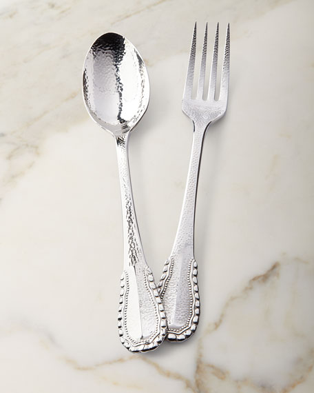 Merletto Serving Fork