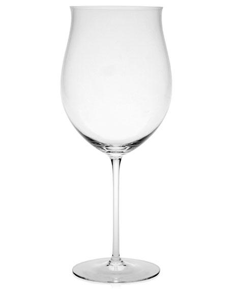 Olympia Burgundy Wine Glass