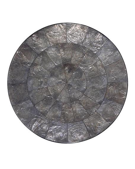 Gray Capiz Placemat