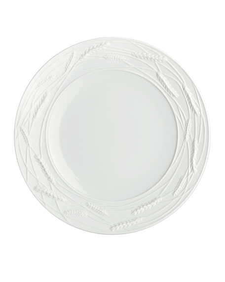 Michael Aram Wheat Porcelain Accent Plate, White