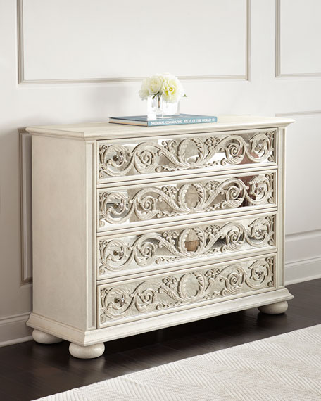 Bernhardt Lucienne Mirrored Chest
