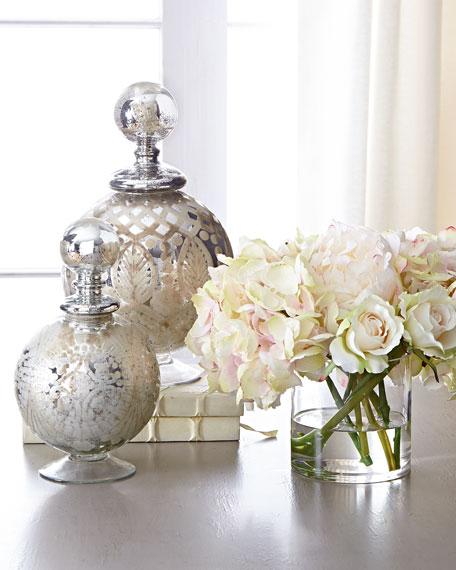 Amour Pastel Faux Flowers