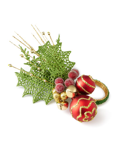Hollyday Napkin Ring