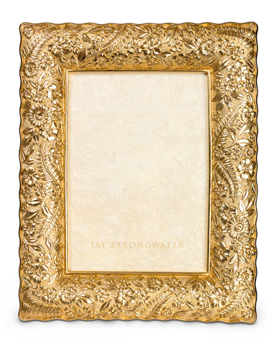 Ruffle-Edge Floral 5 x 7 Picture Frame