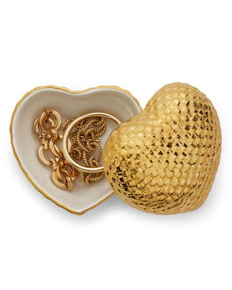 Woven Heart Box