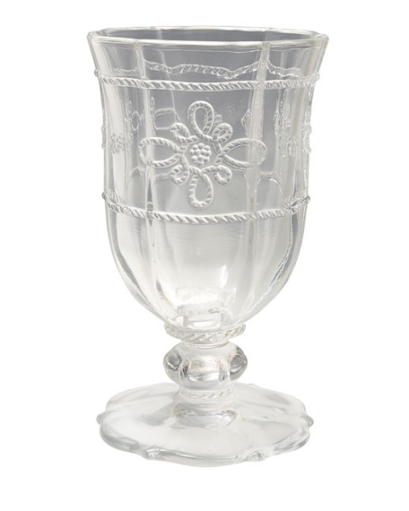 Colette Clear Footed Goblet