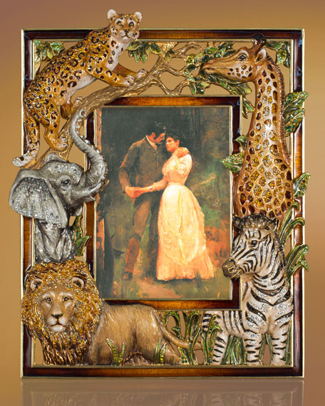 Jungle Animal Picture Frame