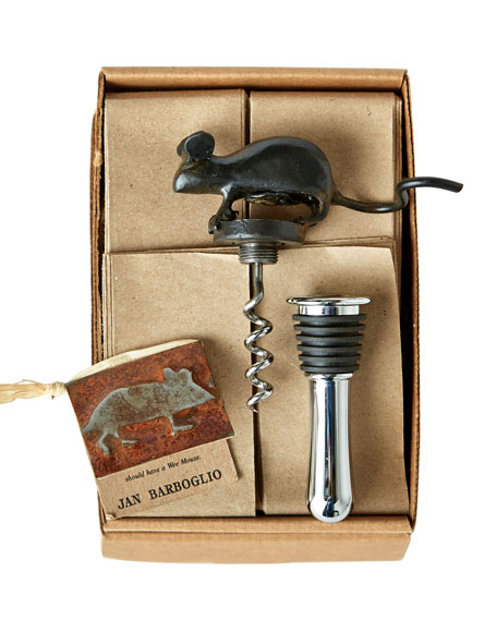 Mouse Corkscrew/Stopper