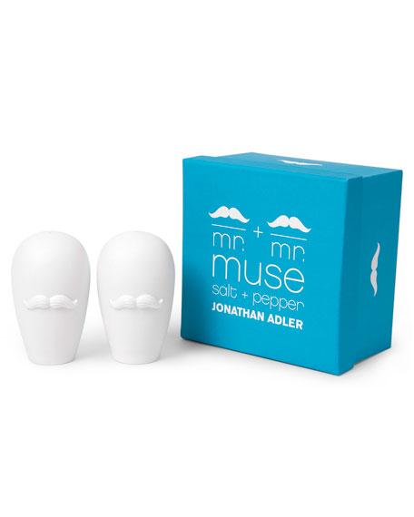 Mr. & Mr. Muse Salt & Pepper Shakers