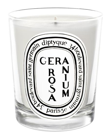 Rosa Geranium Scented Candle