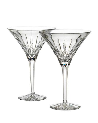 Lismore Martinis  Set of Two