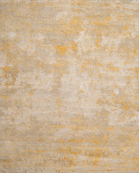 Riley Hand Knotted Rug, 9' x 12'