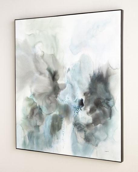 """""""Rainwater"""" Original Oil Painting"""