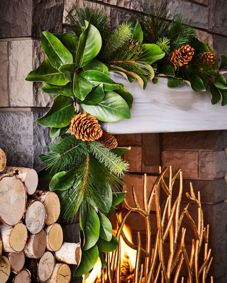 Magnolia Leaf 5' Garland