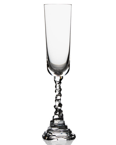 Rock Champagne Flute
