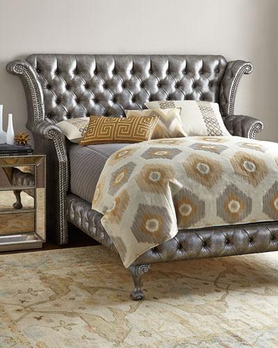 Carter Platinum King Bed