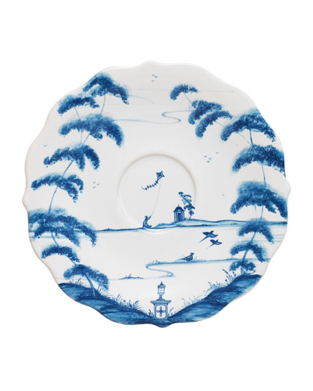 Juliska Country Estate Delft Blue Saucer
