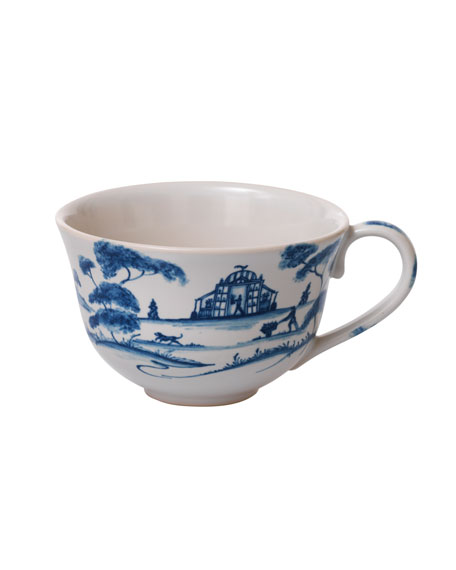 Country Estate Delft Blue Teacup