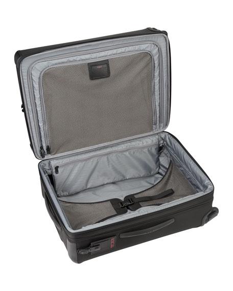 Alpha 2 Black Expandable Four-Wheeled Short-Trip Packing Case Luggage