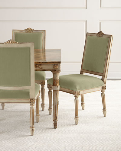 Valerie Velvet Dining Chair, Set of 2