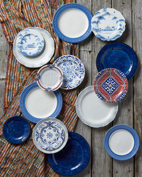 Country Estate Delft Blue Salad/Dessert Plate