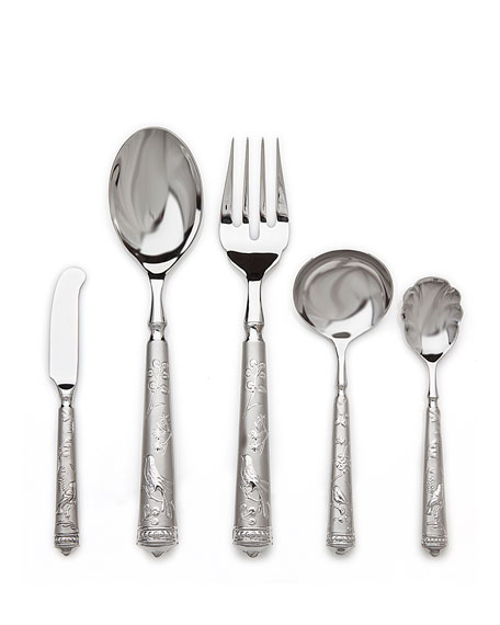 Ricci Silversmith 5-Piece Bird of Paradise Hostess Set