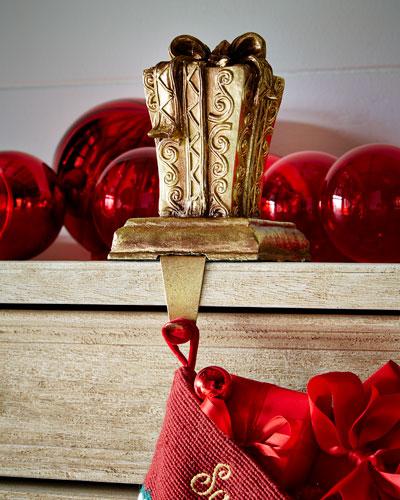 Rectangular Gift Box Stocking Holder