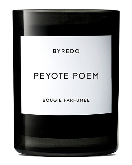 Byredo Peyote Poem Bougie Parfumee Scented Candle, 240g