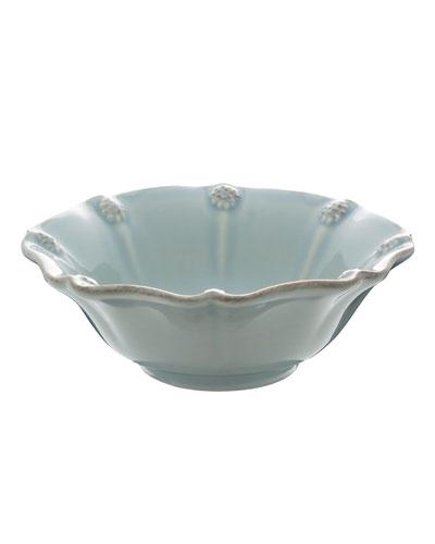 Ice Blue Berry & Thread Berry Bowl