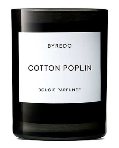 Cotton Poplin Bougie Parfumee Scented Candle  240g