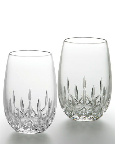 Lismore Nouveau White Wine Glasses  Set of 2