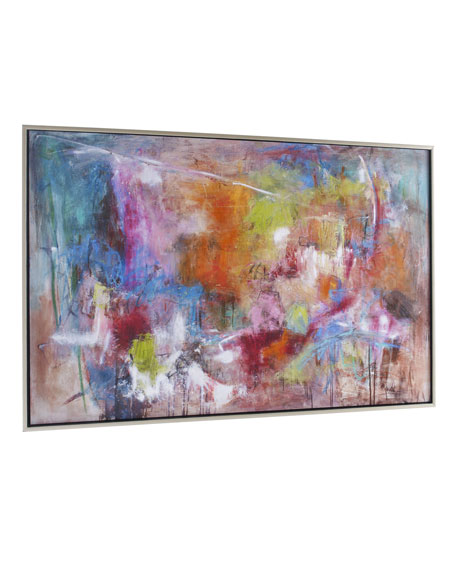 """""""Seville"""" Abstract Giclee on Canvas Wall Art"""
