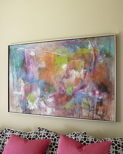 Seville Abstract Giclee on Canvas Wall Art