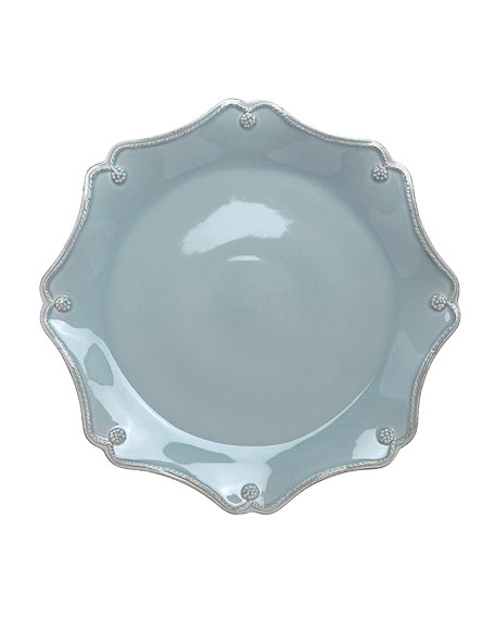 Berry & Thread Ice Blue Charger Plate